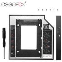 DeepFox Plastic Optibay 2nd HDD Caddy 9.5mm SATA3.0 2.5 SSD CD DVD to HDD Case Enclosure CD ROM ODD 10PCS