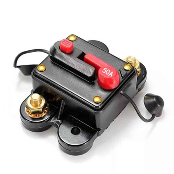 Everything Is Solar™ Inline Circuit Breaker Fuse for 12V Protection