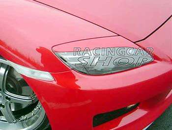 UNPAINTED HEADLIGHT EYELIDS EYEBROWS for MAZDA RX-8 RX8 SE3P  2004-2010 T041EF 1