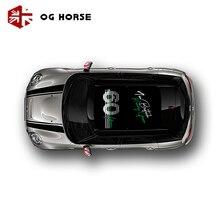 Юнион Джек окна на крыше виниловая мини Автомобильная панорамная крыша стикер графика Солнцезащитная наклейка для MINI Cooper Countryman F60 аксессуары