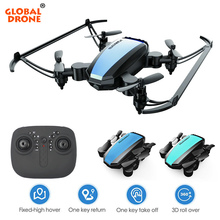 Global Drone GW125 Pocket Drones for Kids Altitude Hold RC H
