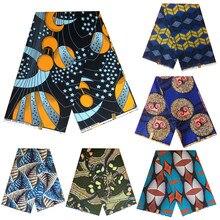 Authentique wax 100% polyester, tissu africain à imprimés, batik, étoffe de couture bonne qualité, patchwork