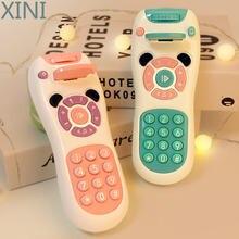 Мобильный телефон xini для детей 0 12 месяцев музыкальные игрушки