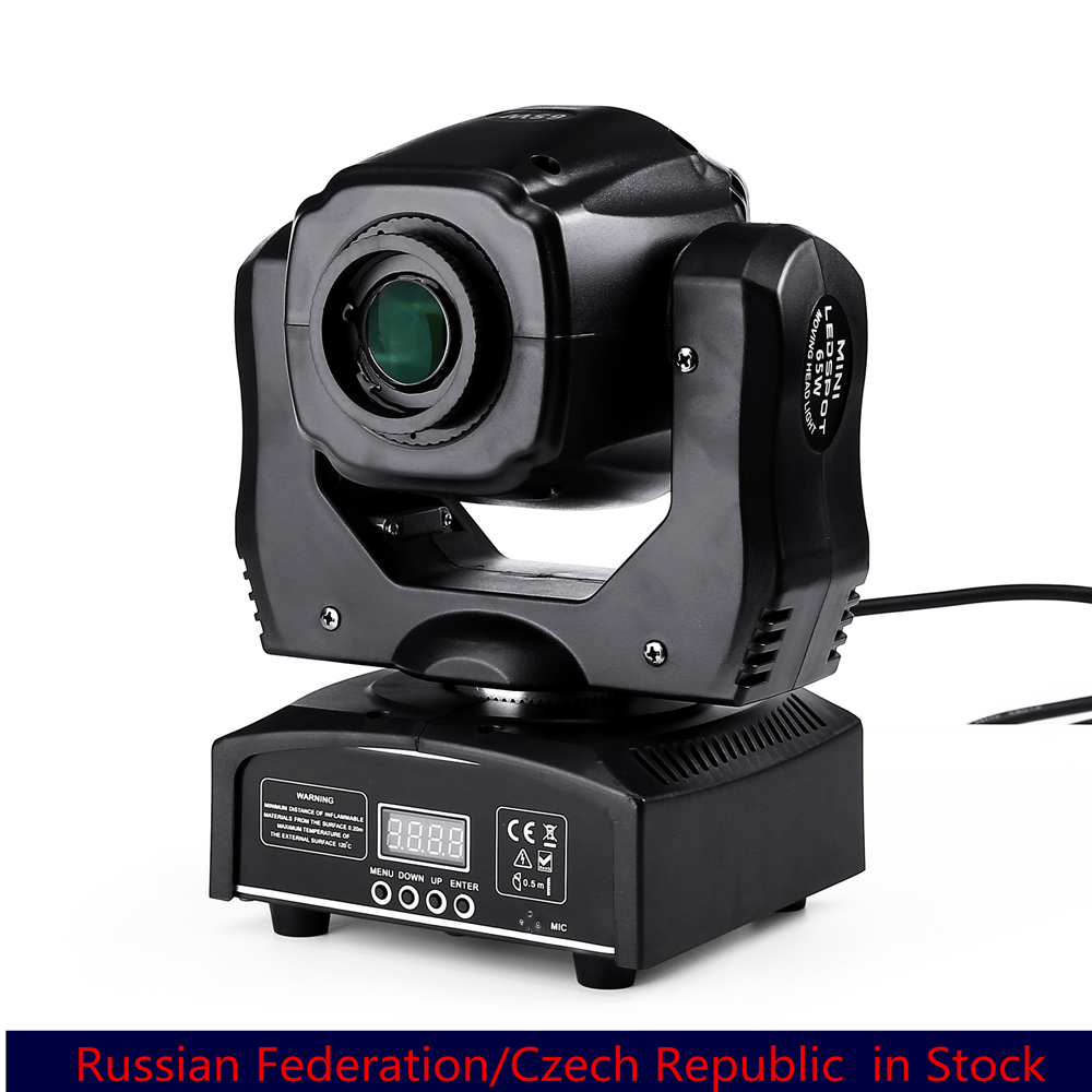 Mini Spot 60W LED Moving Head Light With Gobos Plate&Color Plate,High Brightness 65W Beam Led Moving Head Light DMX512