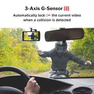 Image 4 - Deelife Dash kamera araba dvrı kamera Full HD 1080P sürücü Video kaydedici Registrator oto Dashboard 1296P çift çizgi kam siyah dvr kutusu