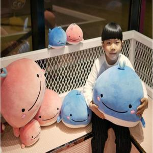 Cute Soft Animal Cartoon Pillow Cushion Cute Whale Plush Dolls Toys Stuffed Lovely kids Birthyday Gifts Whale pillow soft pillow