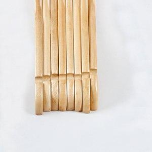 Image 2 - 10pcs עץ מלא קולב החלקה קולבי בגדי קולבי חולצות סוודרים שמלת קולב ייבוש מתלה לבית