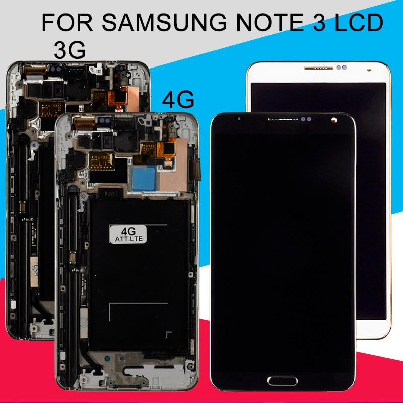 Catteny 3G/4G LTE N9000 Lcd pour Samsung Galaxy Note 3 Lcd N9005 affichage avec écran tactile numériseur assemblée avec cadre