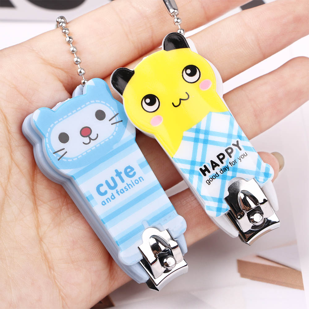 1 Pc Cartoon Nail Clippers Lovely Nail Clipper Cute Nail Art Tool Door Gift Animal Design High Quality