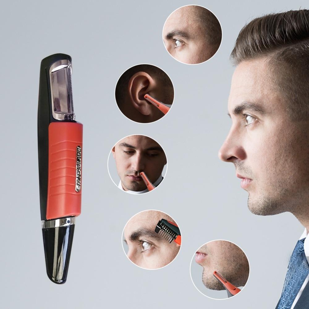 Luz led multifuncional nariz aparador de pêlos