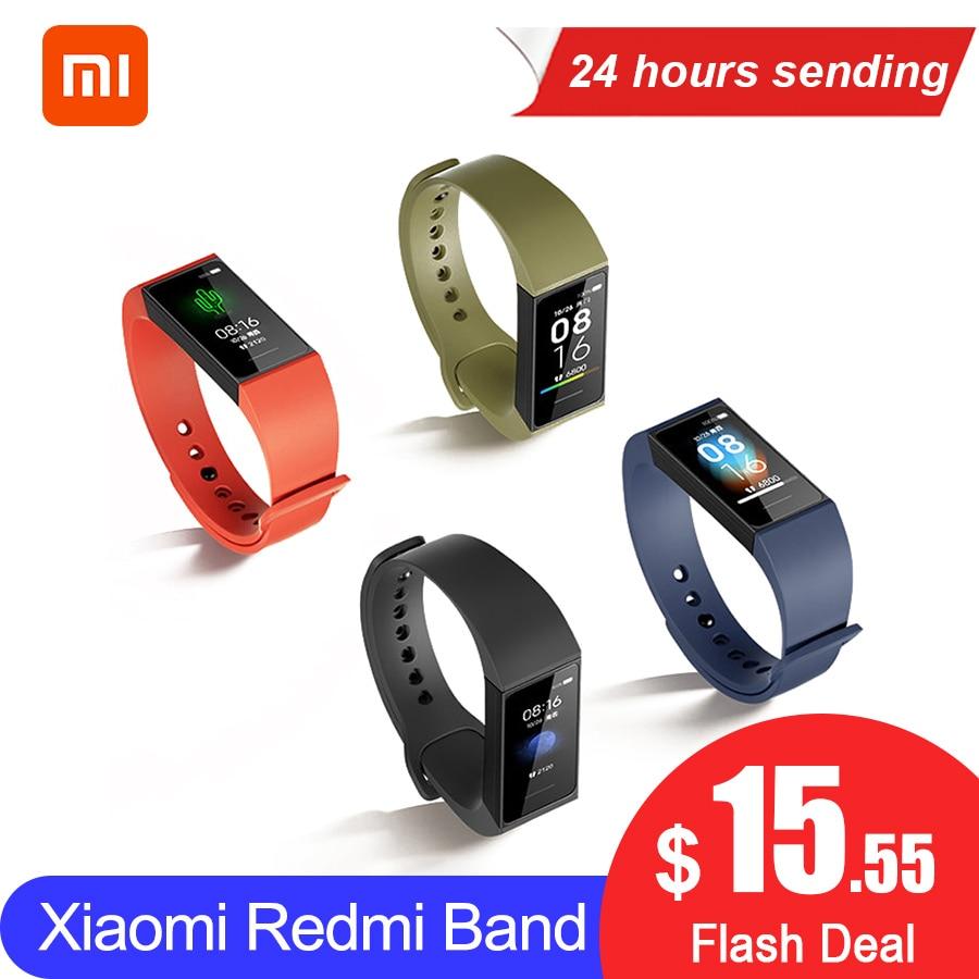 In Stock Xiaomi Redmi Band 4 Smart Heart Rate Sport Monitor Bluetooth 5 0 Waterproof Bracelet