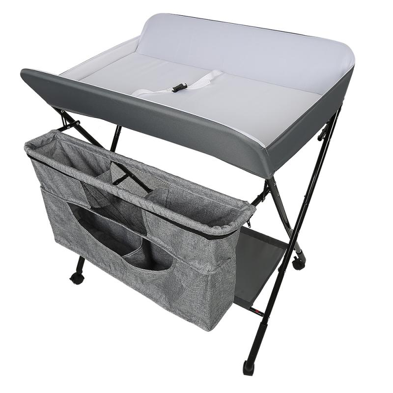 Multifunction Baby Changing Table Foldable Newborn Diaper Changing Tables Safety Care Station Infant Mats Dropshipping HWC