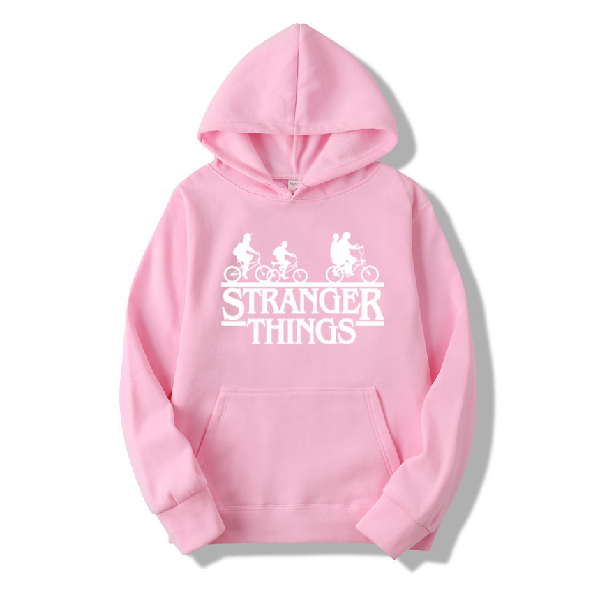 Stranger Things Season 3 Men Winter Hoodies Tops Fashion Male/women Sweatshirt Warm Hip Hop New Upside Down Funny Print Cartoon