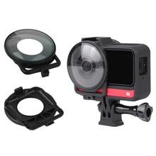 Ffor insta360 um r dupla-lente mod câmera lente guardas para insta 360 r 360 edição protetor capa capa de ação acessórios da câmera