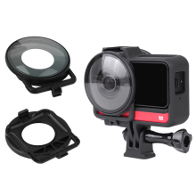 For Insta360 one R Dual-Lens Mod Camera Lens Guards for Insta 360 R 360 Edition Protector Cover Cap Action Camera Accessories