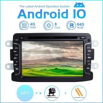 ZLTOOPAI Android 10 For Renault Duster Dacia Logan Sandero Xray 2 Auto Radio Car Multimedia Player GPS Navigation DVD CD Player