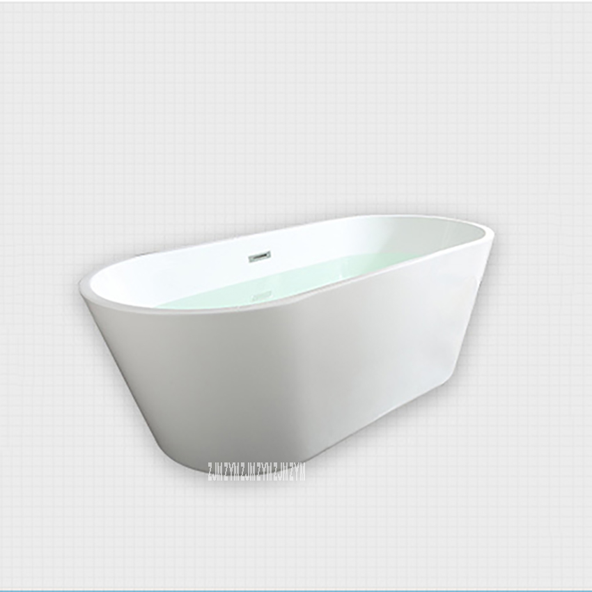 SY-2013 1.5m adulto acrílico casa banheira oval autônoma banheira moderna do banheiro s-armadilha com torneira de cobre ferragem parte-4