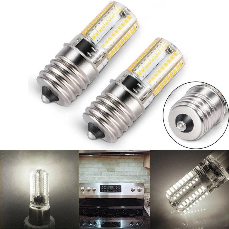Dimmable LED E17 Lamp Bulb LED Bulb Microwave Oven Light Warm Light White Light Cooker Tungsten Filament Lamp Bulbs