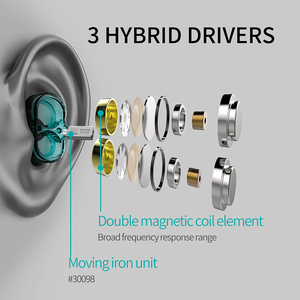 Image 4 - Plextone DX6プロ金属耳有線イヤホン3.5ミリメートルスポーツbluetoothヘッドセットマイクのゲーマーのpk razerハンマープロv2