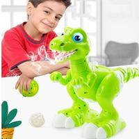 RC Dinosaur Robot Toys Gesture Sensor Interactive Remote Control Robotic Spary Dinosaur Smart Electronic Toys Radio Controlled