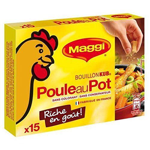 Maggi Brodo Di Pollo Pot 15 Tablettes150G