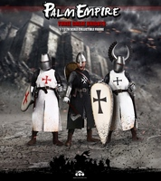 COOMODEL 1/12 Scale Teutonic Templar Hospitaller Knight Warriors Male Action Figure Collectible Figurine Model