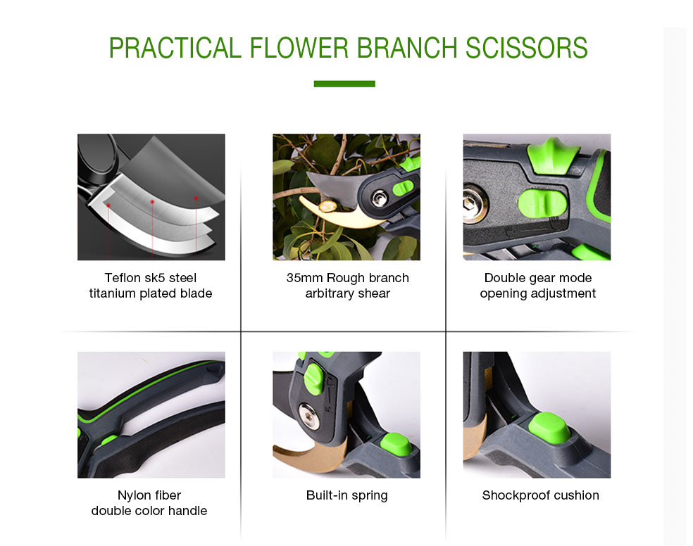 AI-ROAD practical flower shears scissors