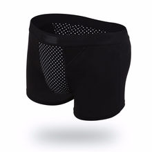 Fashion Mens Magnet Health Black Boxer Underwear