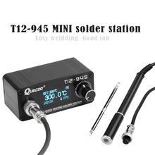 STM32 T12-945 MINI Soldering Station Electronic iron 1.3inch Digital station solder iron tip welding tool without power