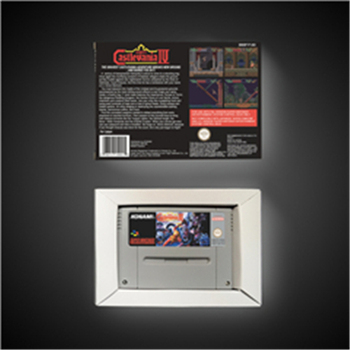 Super Castlevania IV 4 - EUR Version Action Game Card with Retail Box 2