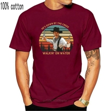 He's Down by The Creek Walkin On Water Doc Holliday Lover Tombstone Vintage Unisex T-Shirt