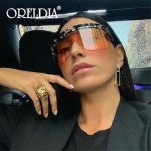 Luxury Retro Oversized sunglasses women 2020 Brand Designer