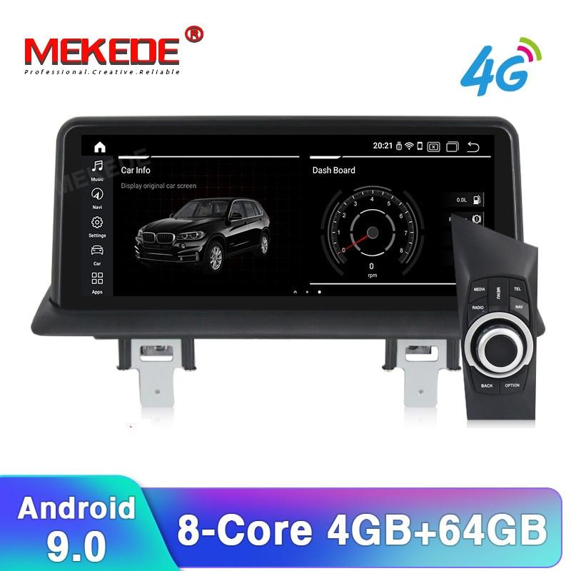 MEKEDE PX6 10.25 pouces Android 9.0 voiture GPS Navigation Radio lecteur pour BMW 1 série 120i E81 E82 E87 E88 2G RAM 32G ROM + 16G carte
