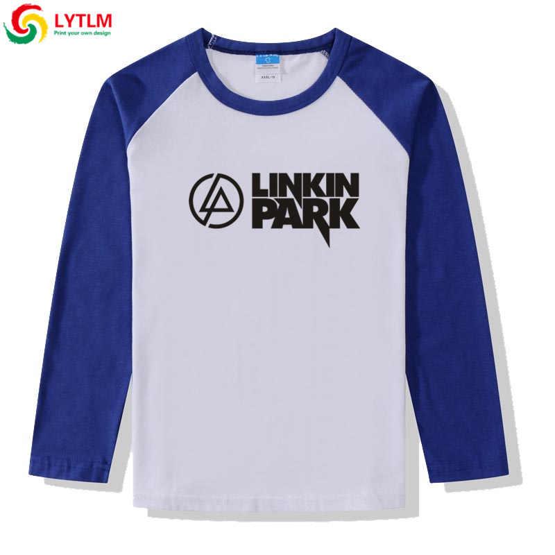 تي شيرت LYTLM تي شيرت للأطفال بأكمام طويلة تي شيرت للبنات من Linkin Park تي شيرت للبنات لشتاء 2019 تي شيرت للأولاد