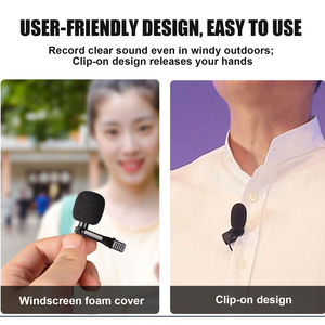 Image 4 - Besegad Mini Clip on Lavalier Lapel Microphone Microfon Mic with USB Type C Interface for Voice Chat Video Recording Interview