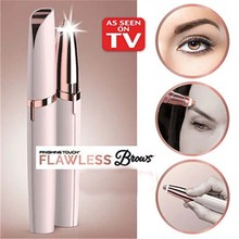 Electric Eyebrow Trimmer Makeup Painless Eye Brow Epilator Mini Shaver Razors Portable Facial