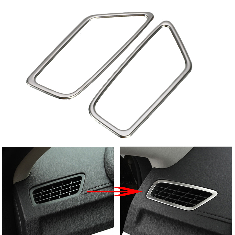 Car Dashboard Air Outlet Vent Cover Trim Frame Sticker For Geely Atlas Boyue Emgrand NL-3 Proton X70 2017 2018 2019 Accessories