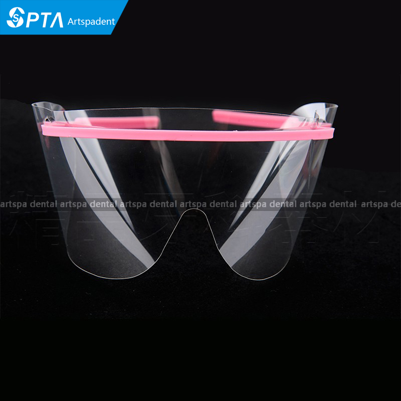 20 Sets Disposable Dental Frame+Film Face Shield Glasses Eye Protective Glasses