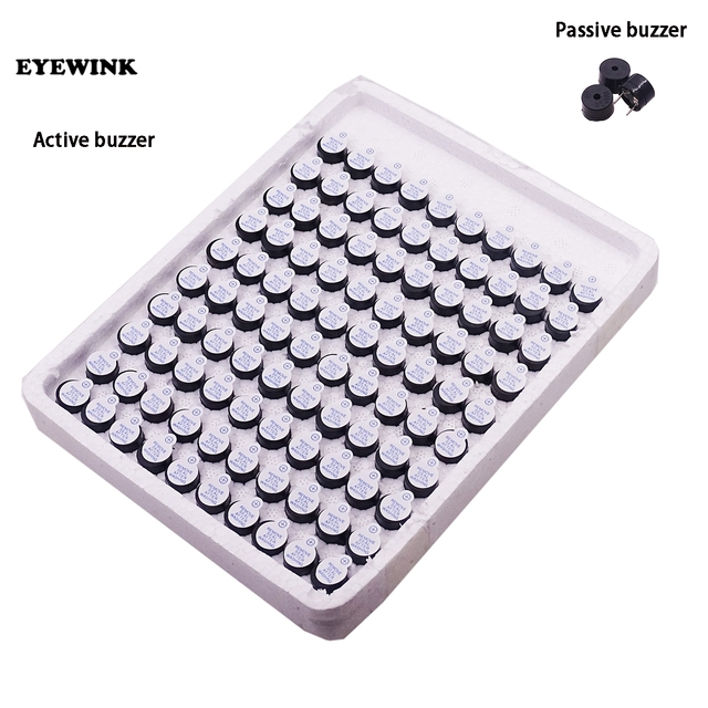 500pcs 5v Active Buzzer/passive Buzzer Magnetic Long Continous Beep Tone