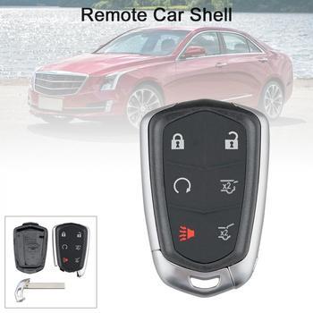 6 przycisków inteligentne etui na kluczyki do samochodu pasuje do 2015 #8211 2018 Cadillac Escalade ESV tanie i dobre opinie CN (pochodzenie)