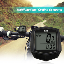 Велосипедный компьютер проводной велосипедный компьютер водонепроницаемый ЖК-экран велосипедный компьютер светодиодный цифровой скорость водонепроницаемые датчики спортивные