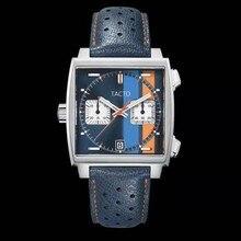 TACTO-Reloj de pulsera japonés VK para hombre, cronógrafo de cuarzo, resistente al agua, funcional, Masculino, novedad de 2021
