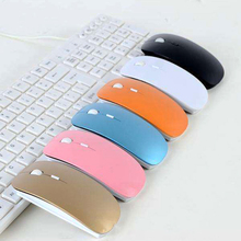 5 Colors 2.4Ghz Wireless Mouse Portable Ultra thin Optical Office 4 Buttons Mice for PC Computer Notebook