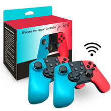 Vogek Bluetooth Wireless Gamepad for Nintendo Switch Pro NS Game Handle Game Console Wireless Joystick for N-Swtich Pro wireless gamdpad game joystick for super nintendo sfc snes classic portable console video game gamepad