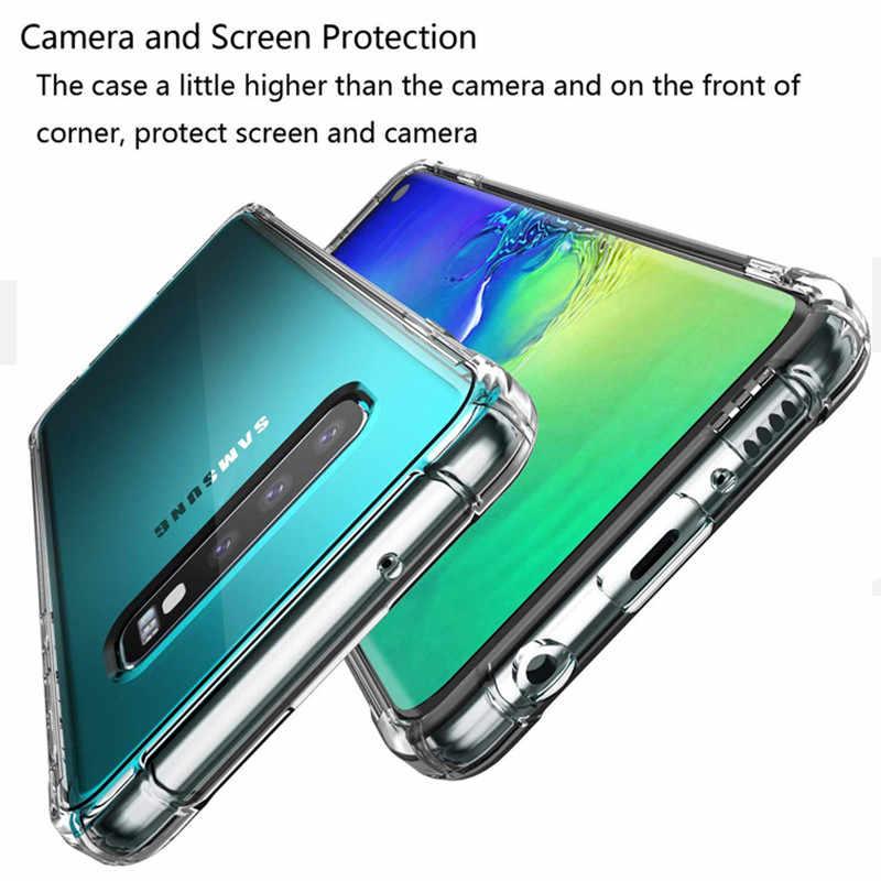 TPU souple étui pour samsung Galaxy A50 A30 A20 A10 A60 A70 A40 S10 S8 S9 Plus M30 M20 note 10 9 8 Housse Antichoc coque en silicone