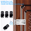 Keyless casa controle remoto-porta-bloqueio invisível-elétrico-bloqueio aplicativo móvel código sem fio mecânico bluetooth portão de bloqueio abridor