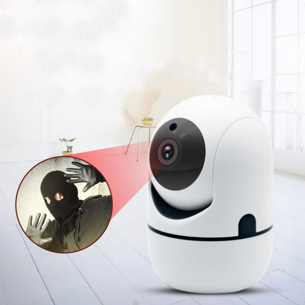 Version Smart Camera Webcam 1080P WiFi Pan-tilt Night Vision 355° Vertical 120° Rotation Video Camera View Baby Monitor