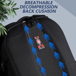 Image 4 - Anti thief USB Charging Laptop Backpack Men Oxford bagpack Waterproof Travel Backpack Vintage School Bag 15/17inch Male Mochila