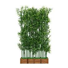 Искусственные растения 10 шт 200 см/250 см зашифрованный искусственный бамбук, растение без горшка искусственные деревья для домашнего декора поддельные растения зелени