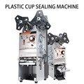 Коммерческий многофункциональный бумажный стаканчик  пластиковый стаканчик  Точная Машина Для Запечатывания напитков  автоматический мол...